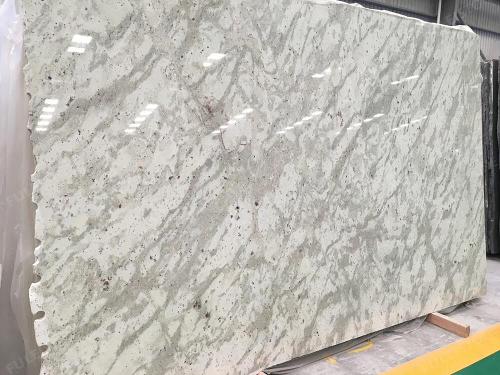 White Andromeda Granite Slab