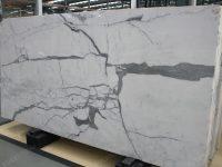 Statuario White Marble Slab
