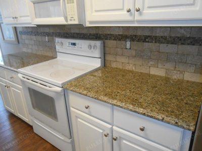 brazilian gold granite kitchen countertop