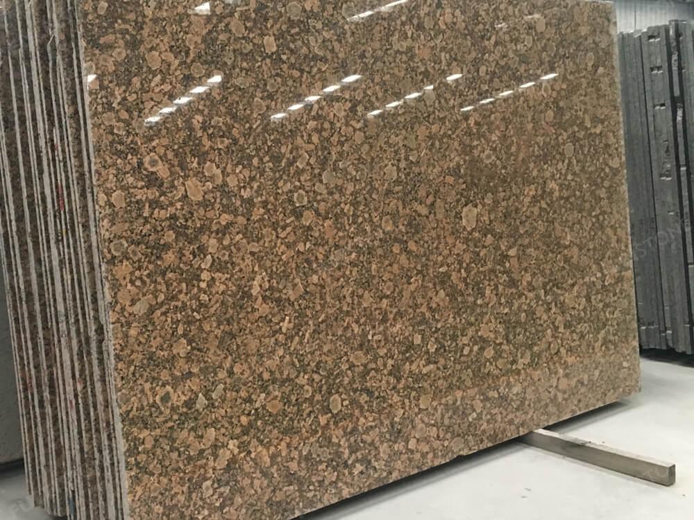 polilshed giallo veneziano granite slab