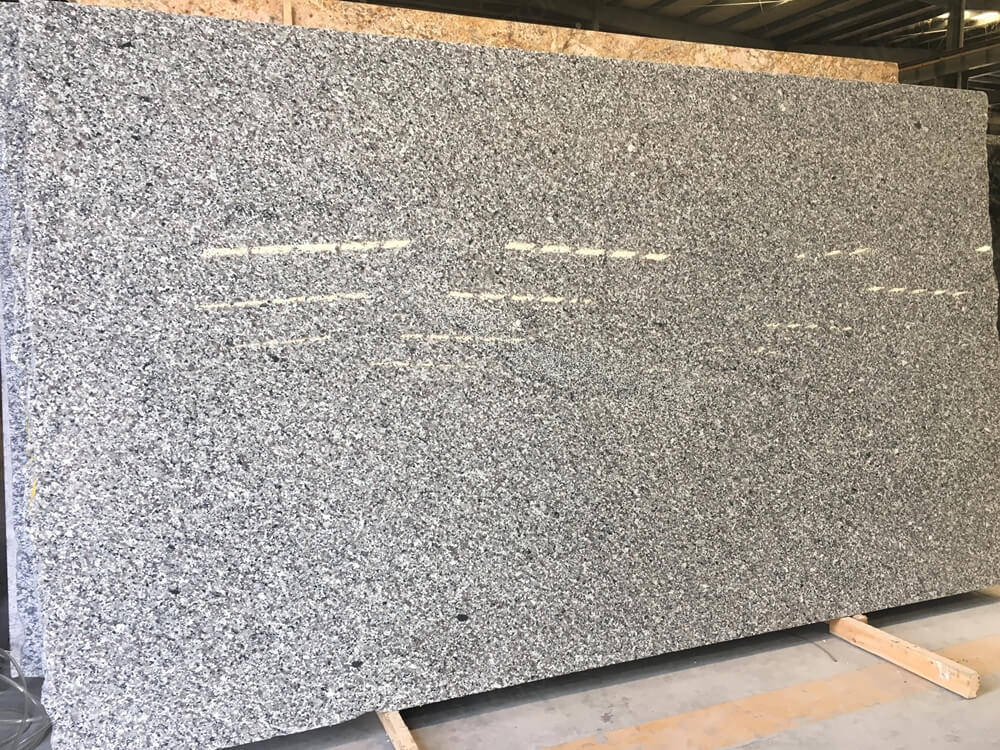 swan white granite slab