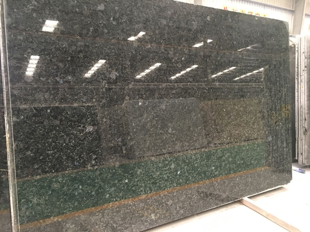 volga blue granite slab for top