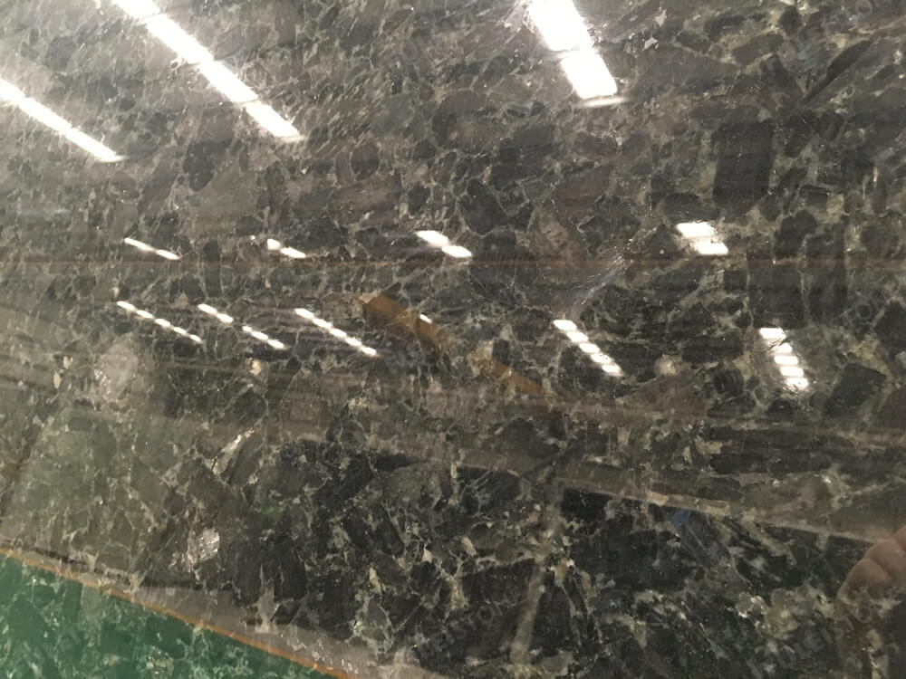 volga blue granite surface