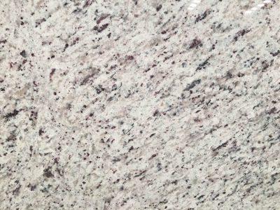white rose granite surface