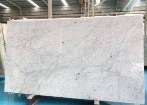 Bianco Carrara white marble slab