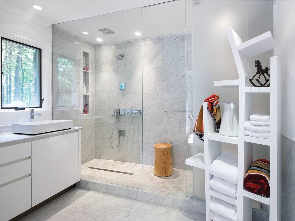 Bianco White Carrara Marble Slab Direct Supplier Fulei Stone