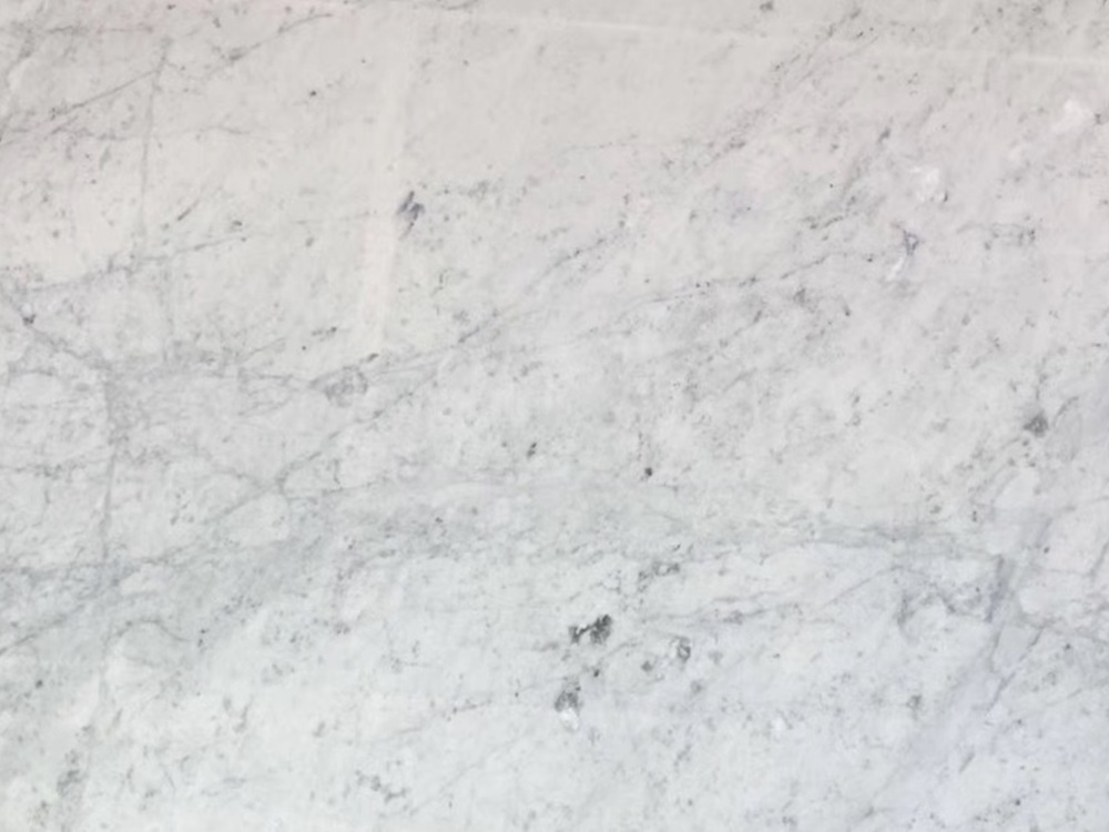 Bianco Carrara white marble polished