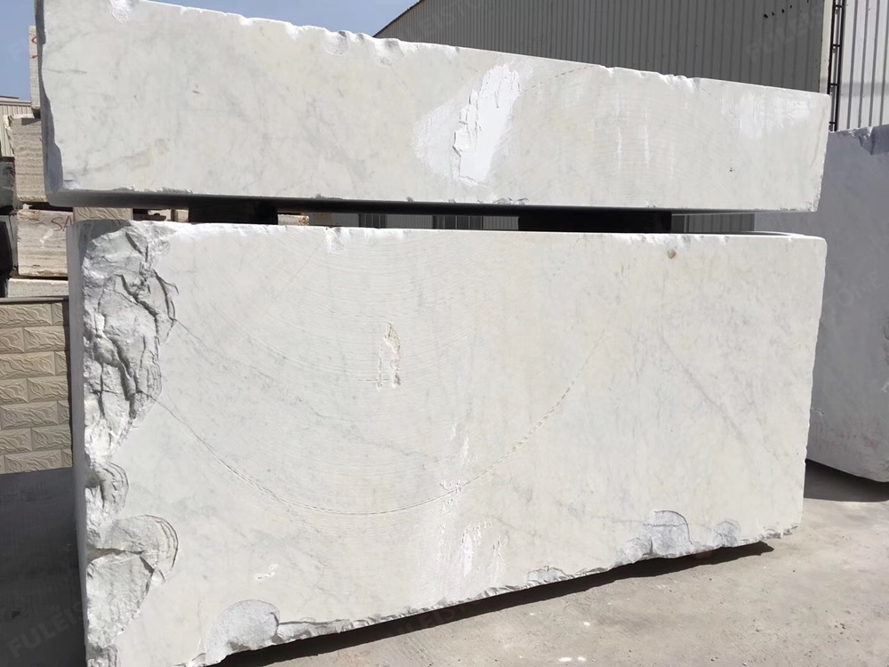 Bianco Carrara white block