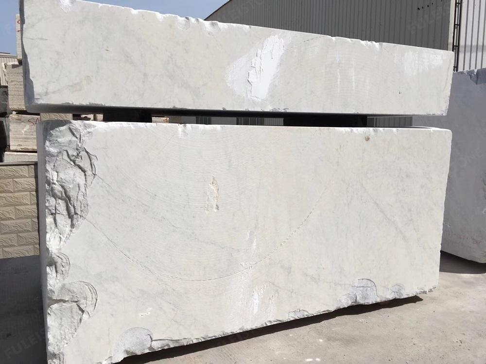 Bianco Carrara white block