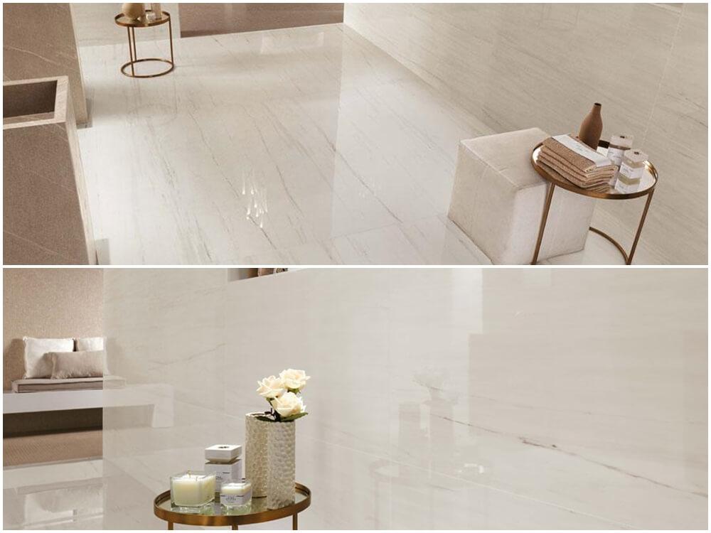 Bianco Dolomite White Marble flooring