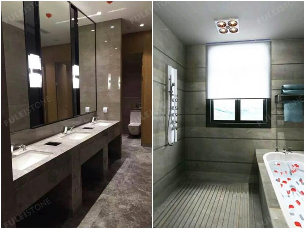 Caesar Grey Marble for Bathroom
