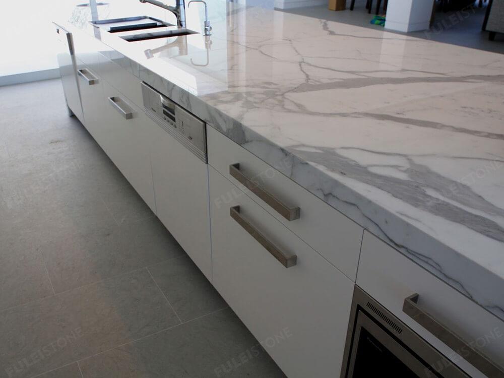 Calacatta Marble Countertop Edge