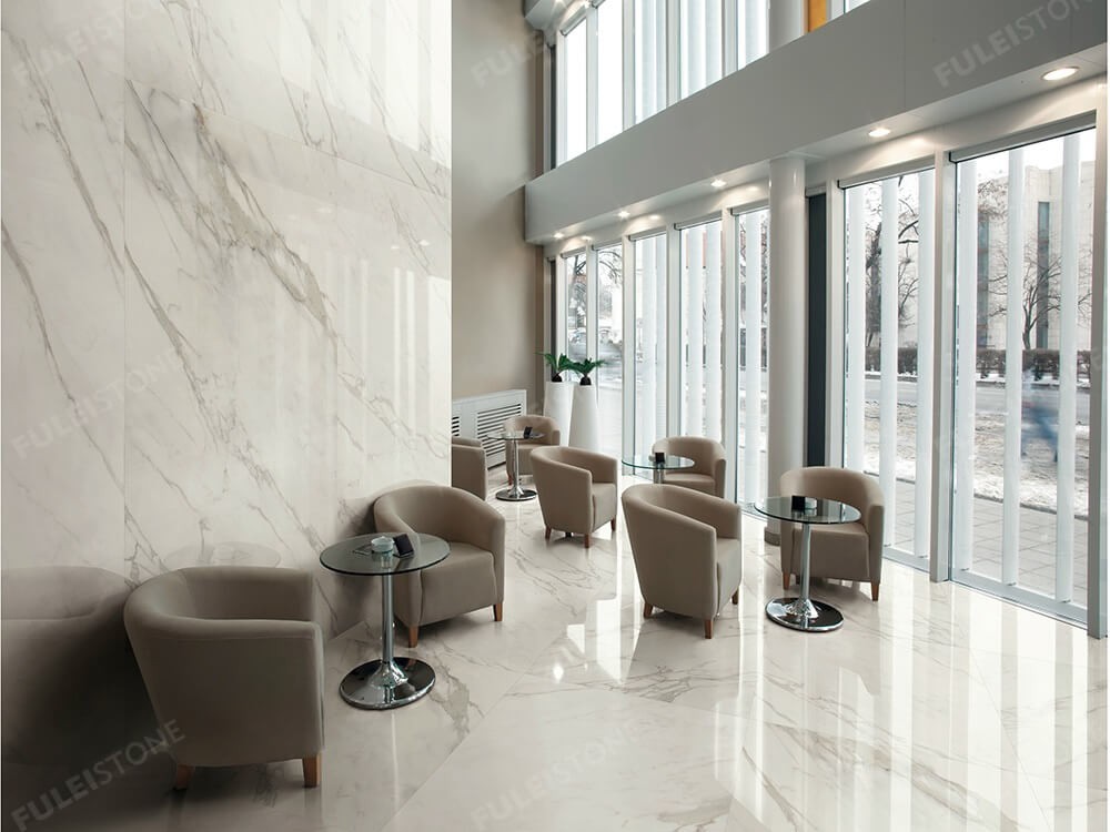Calacatta White Marble Wall Tiles