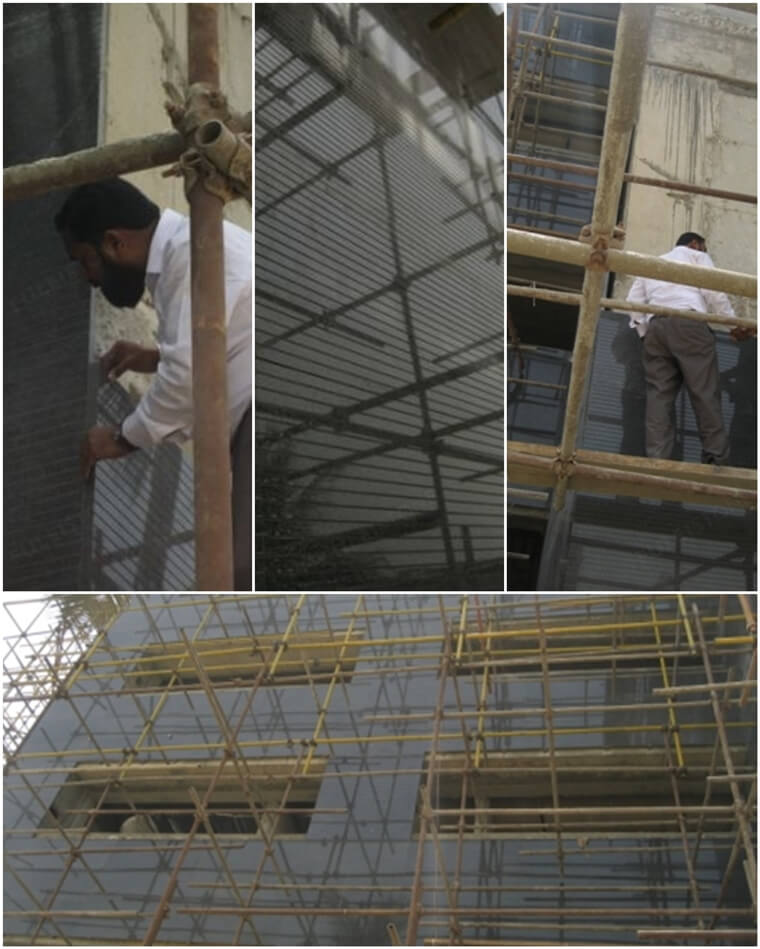 G654 granite cladding tile