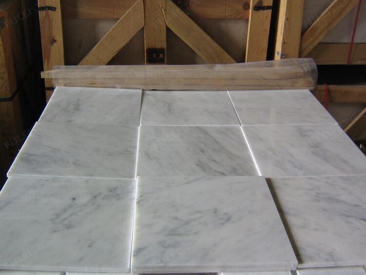 Guangxi White Marble Tiles