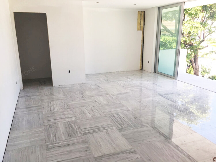 Kavala Marble Flooring Tile Projects