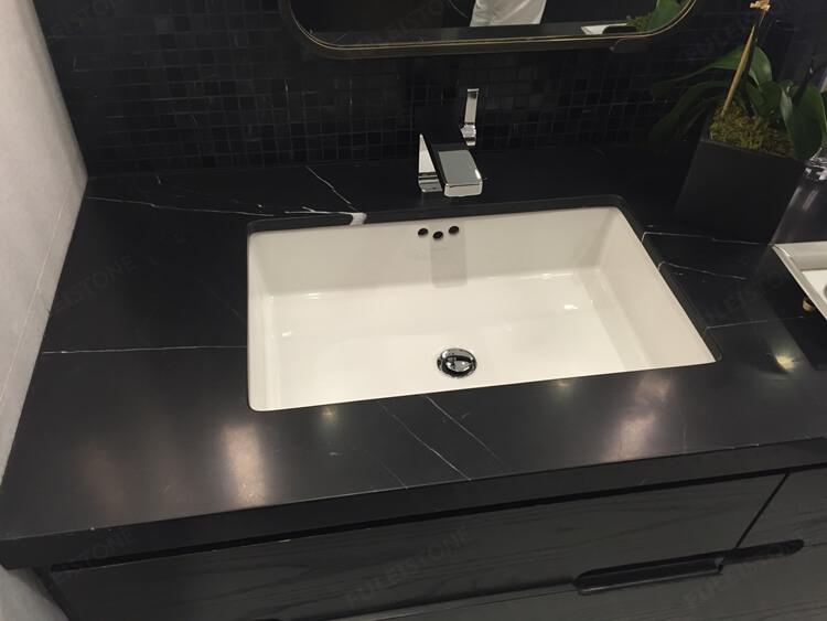 Nero Marquina Marble vanity top