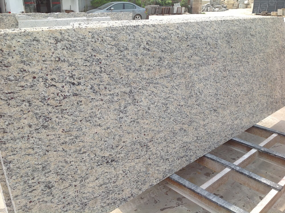 Prefabricate Santa Cecilia Light Granite Countertops