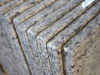 Santa Cecilia Light Granite Countertops Edges