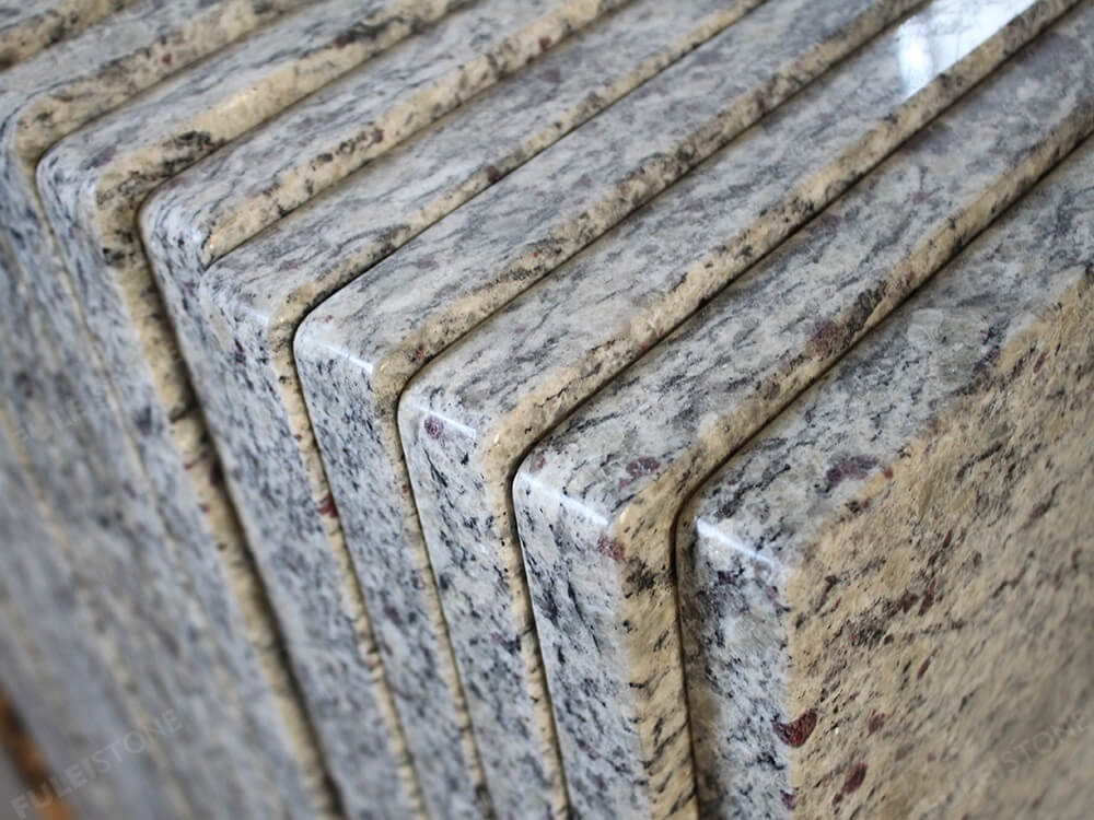 Santa Cecilia Light Granite Countertops Edges