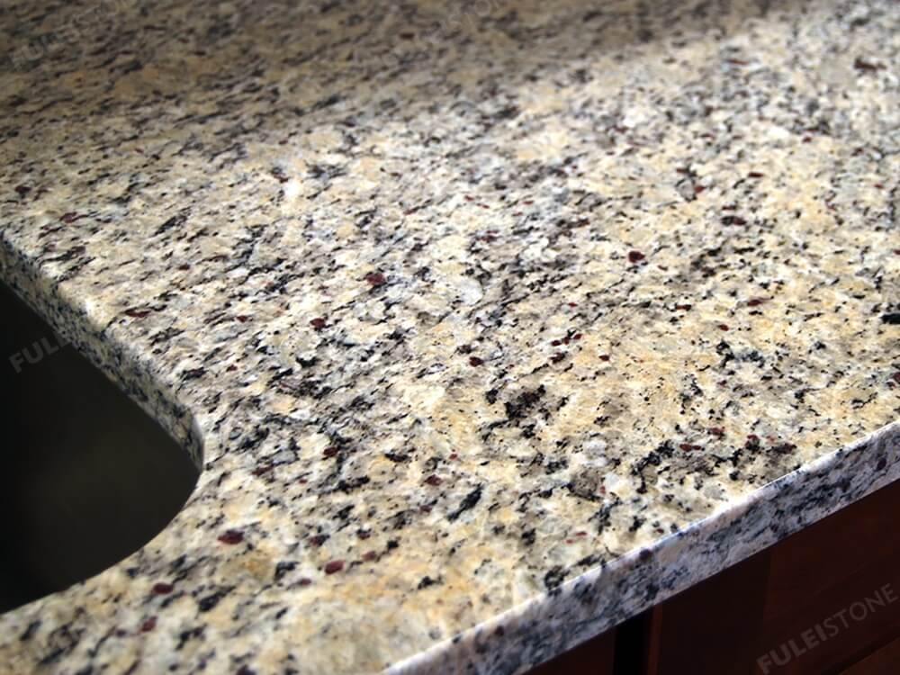Santa Cecilia Light Granite Slabs Polished Countertops