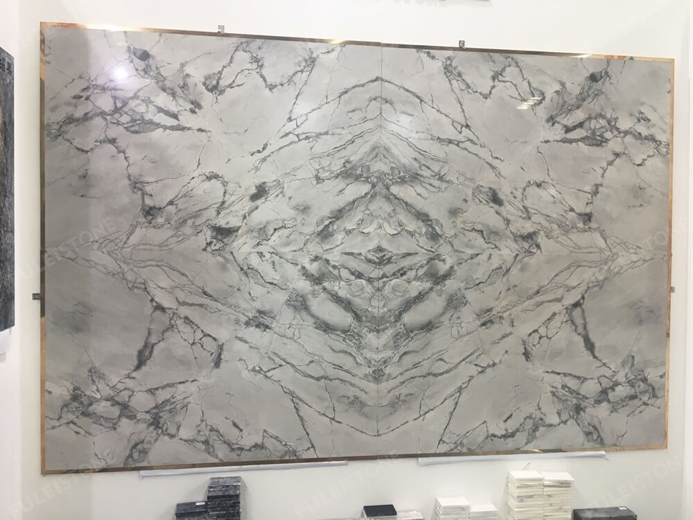Super Grey Marble Background