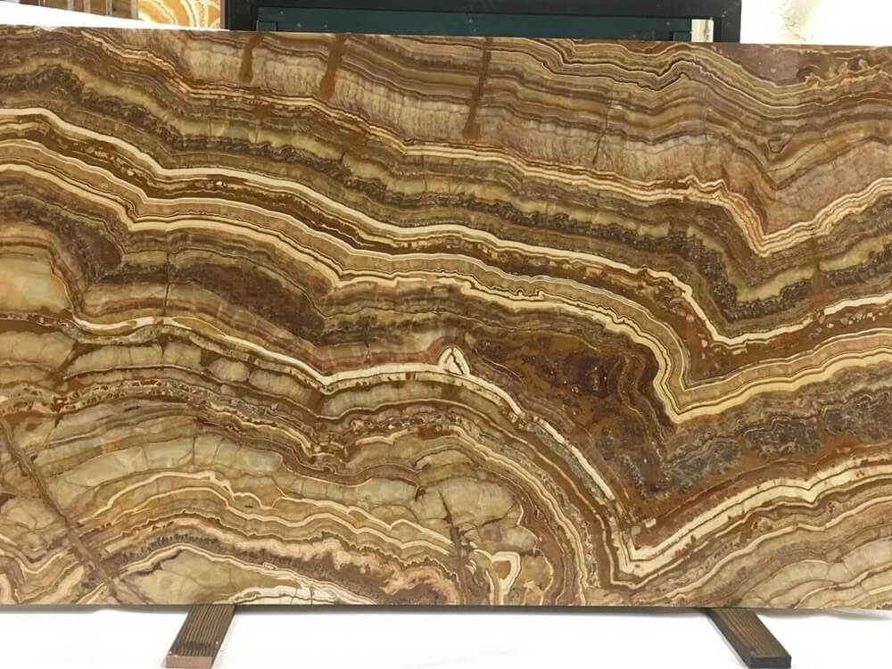 Gold Tiger Onyx Marble