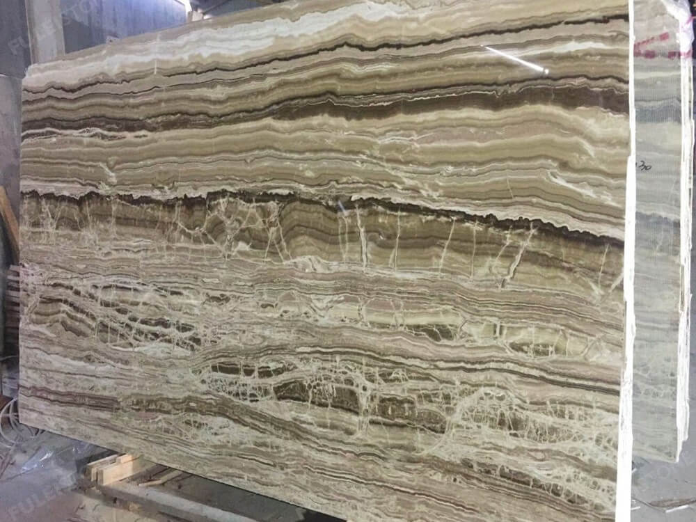 Wooden Onyx Big Slab