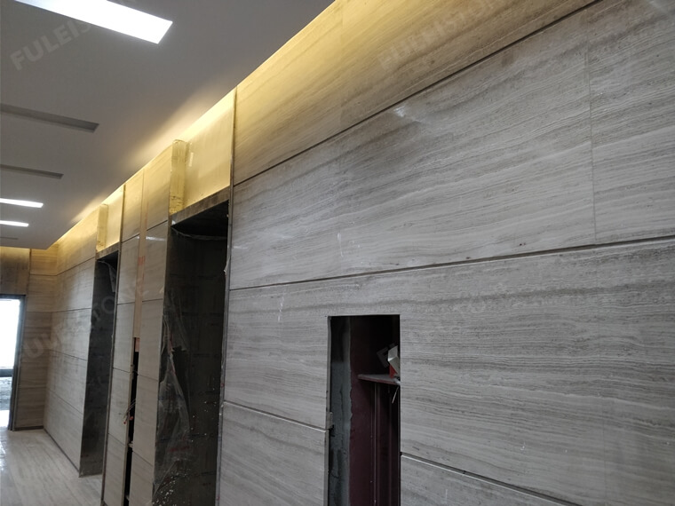 grey wooden marble tile for wall