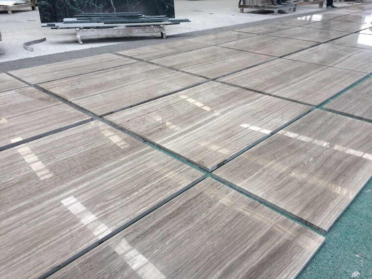 macthed grey wooden marble tile