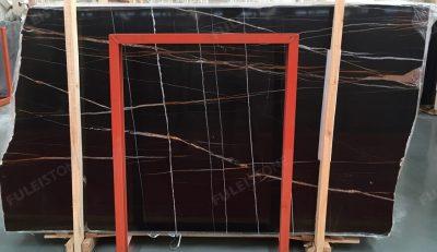 1.8cm Thickness instock jhh-2351 sahara noir marble slab