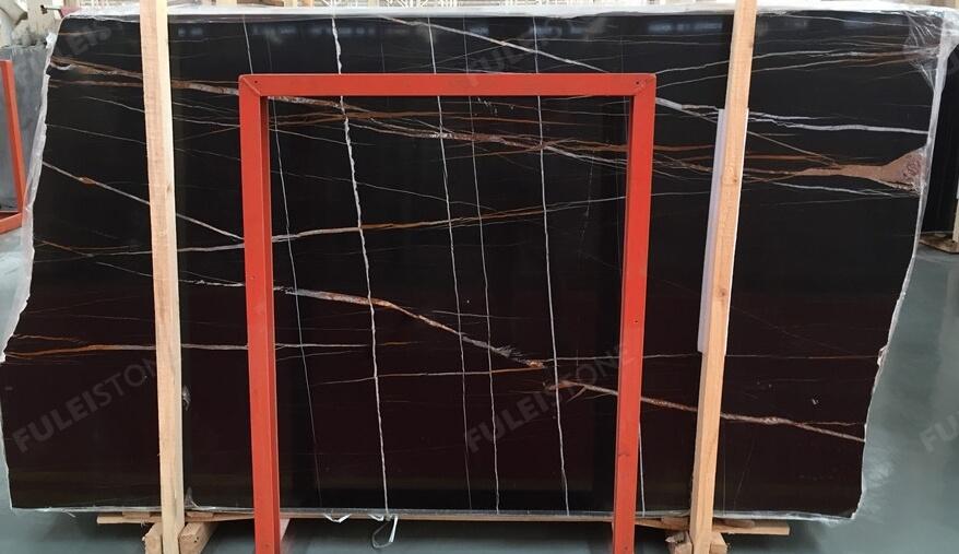 No. Jhh-2351 1.8cm instock sahara noir marble slab