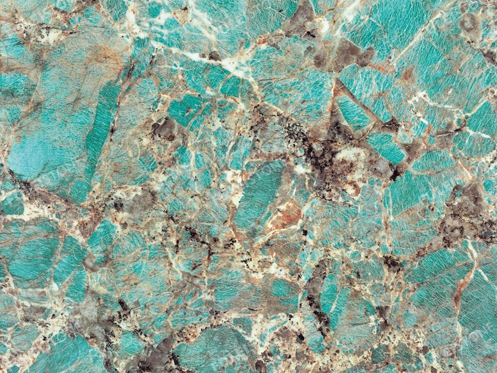 Amazon Green Quartzite Granite Surface 2