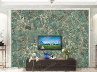 Amazon Green Quartzite Granite Wall Decoration