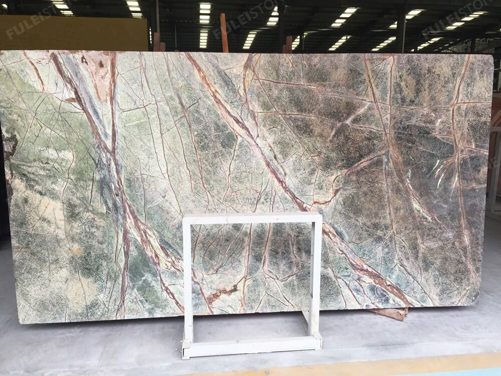 Antique Rain Forest Green Marble