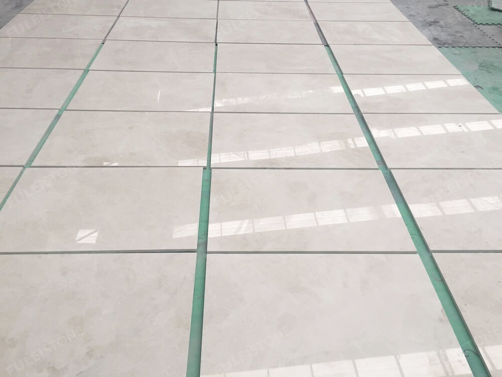 Aran White Marble Floor Tiles