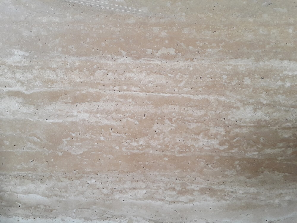 Cream Beige Travertine Marble Slab Details