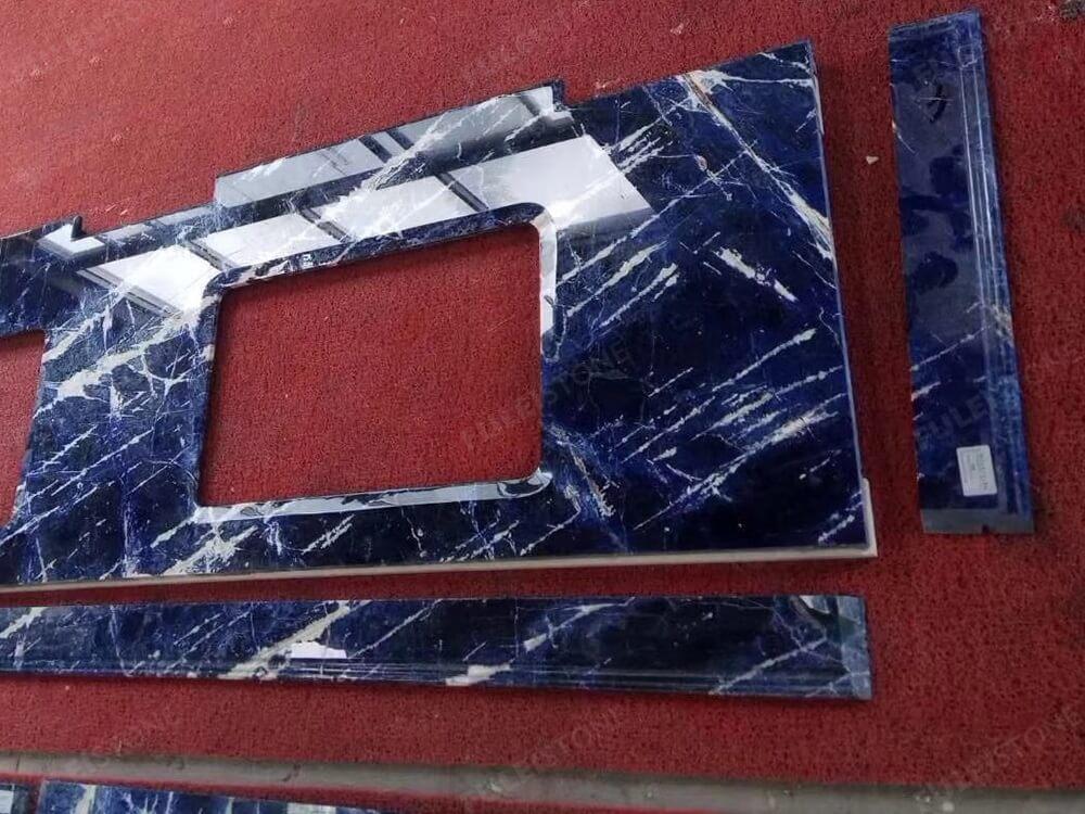 Blue Sodalite Granite Countertop