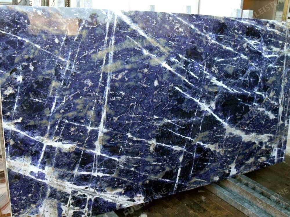 Blue Sodalite Granite Slab 2
