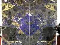 Bolivia Blue Granite Bookmatch