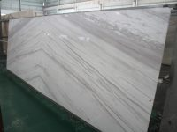 Bookmatch Volakas White Marble