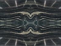 Bookmatched Silver Brown Wave Marble
