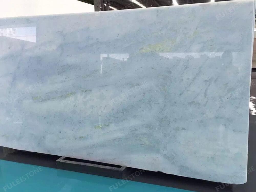 Brazil Crystal Blue Marble Slab