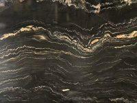 Brazil Portoro Marble Slab Texture