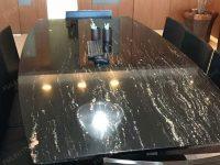 Brazil Portoro Marble Table
