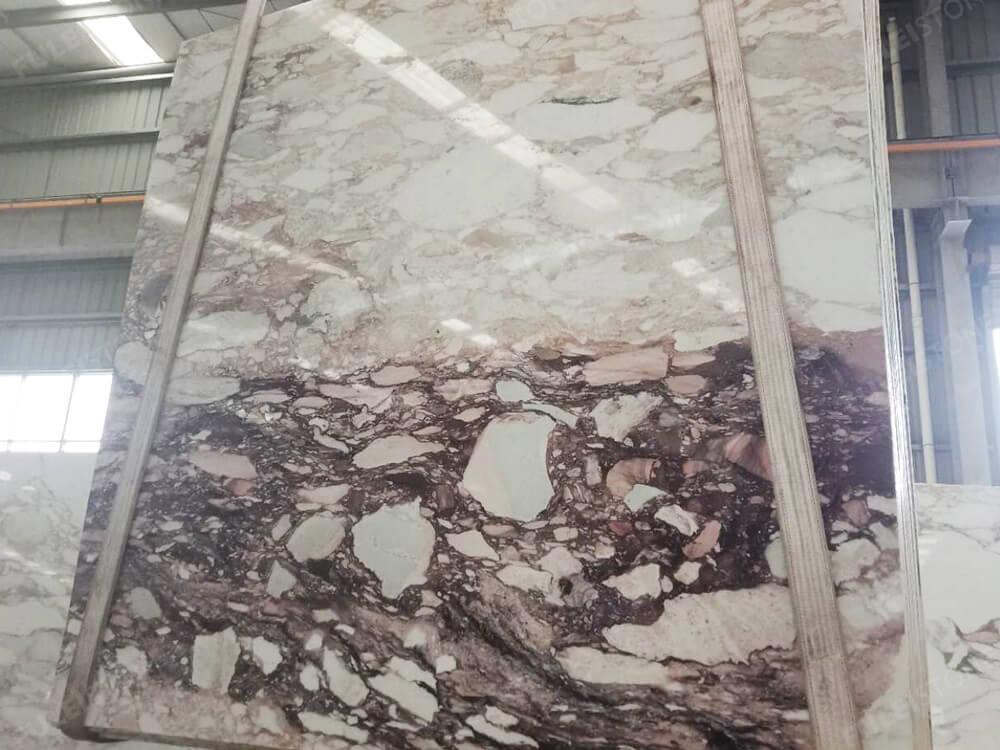 Calacatta Viola Marble Slab Polished