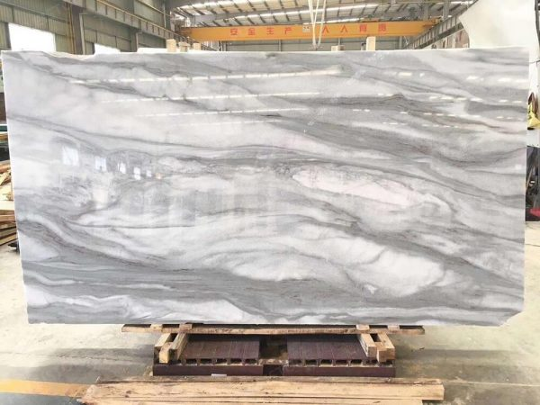 Cloudy Misty Marble Slabs