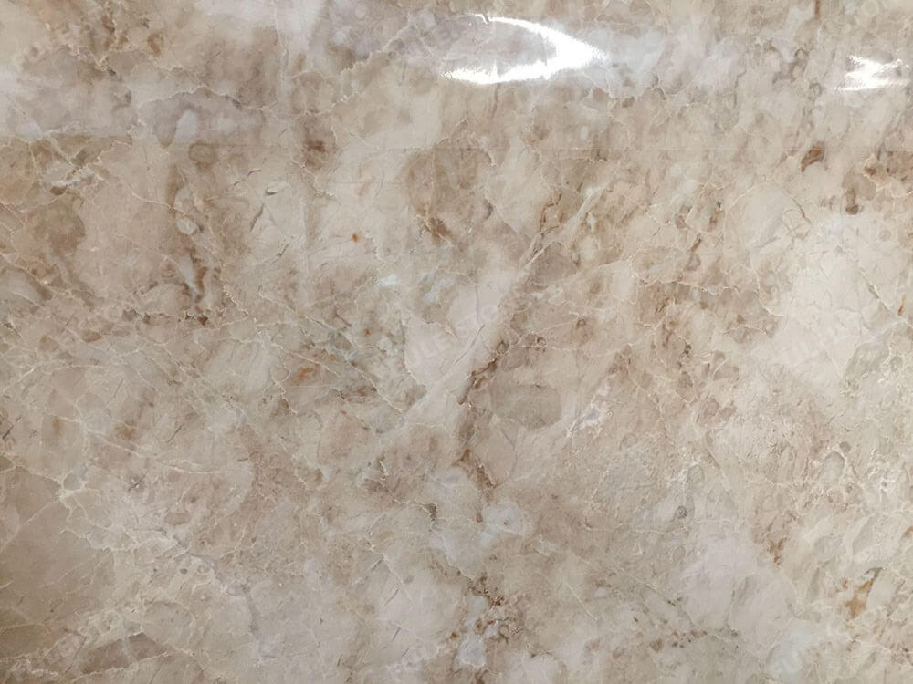 Crema Cappuccino Marble Slab Surface