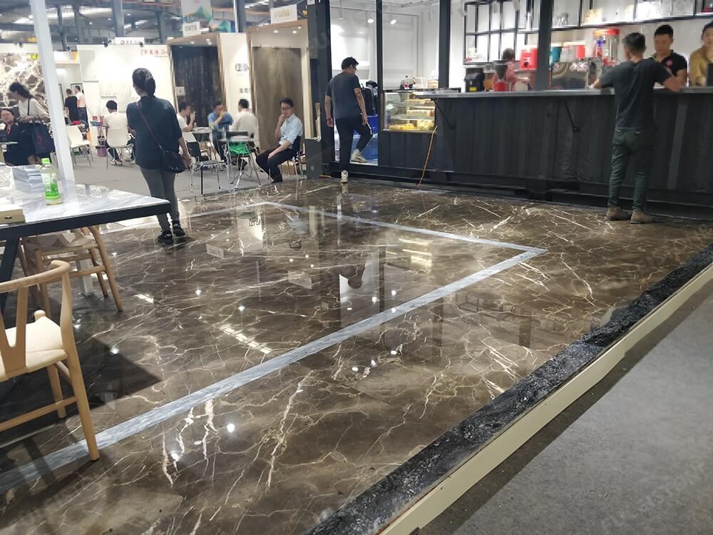 Emperador Gold Marble Flooring Tiles