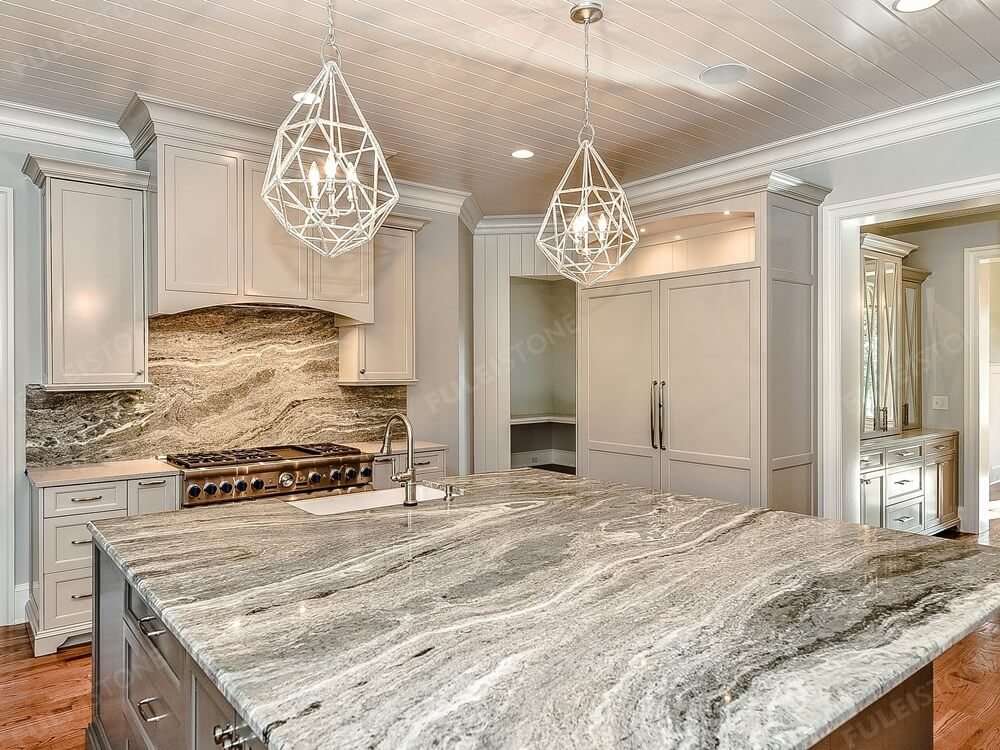Fantasy Brown Marble Kitchen Countertop